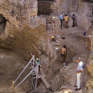 carmel-höhlen, tabun, 1979