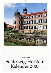 schleswig-holstein kalender, titel 2003