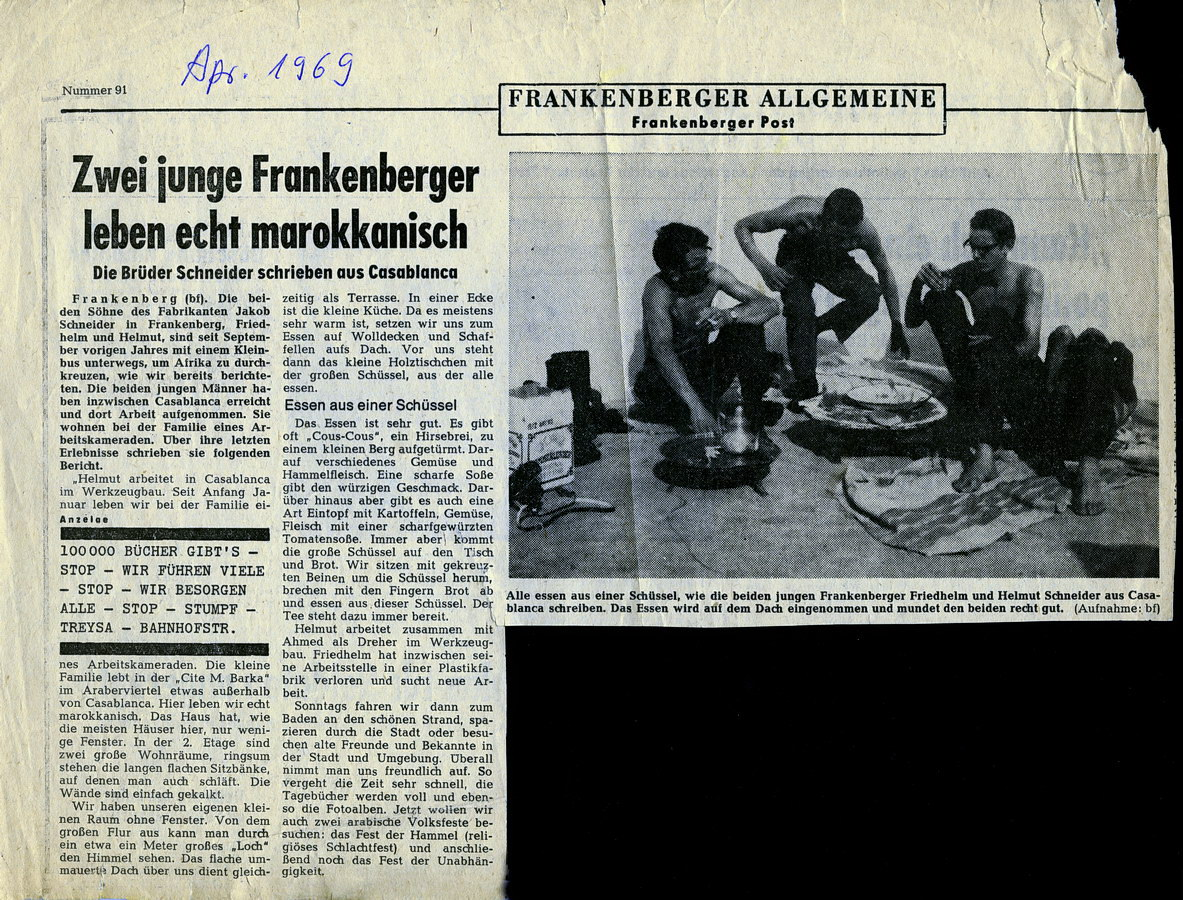 frankenberger zeitung, april 1969