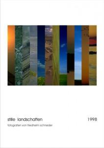 "kalender ""stille landschaften"", 1998"