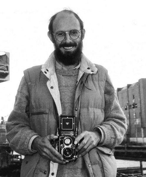 friedhelm schneider auf der hitzller-werft lauenburg, foto christian geisler 1990