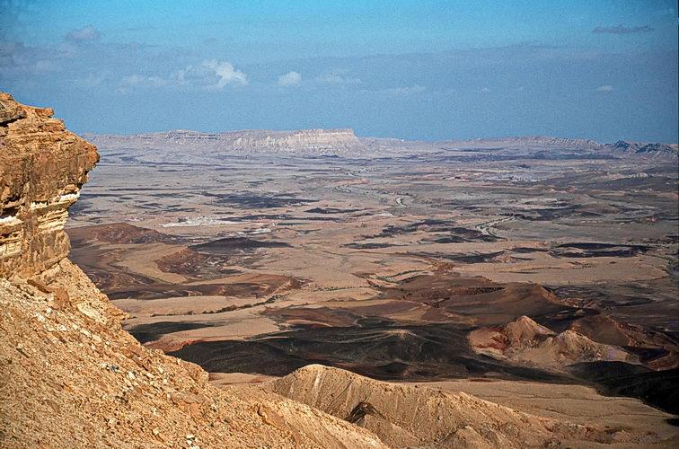 israel, survey, makhtesh ramon