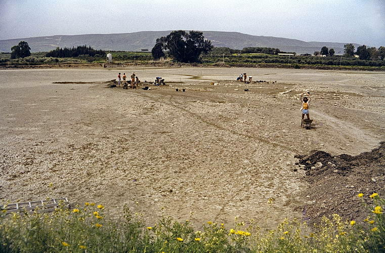 israel 1980, sha'ar hagolan, middle bronze age village