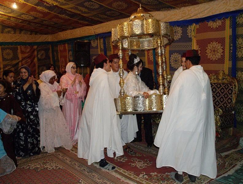 marokko, massa, hochzeit, 2006
