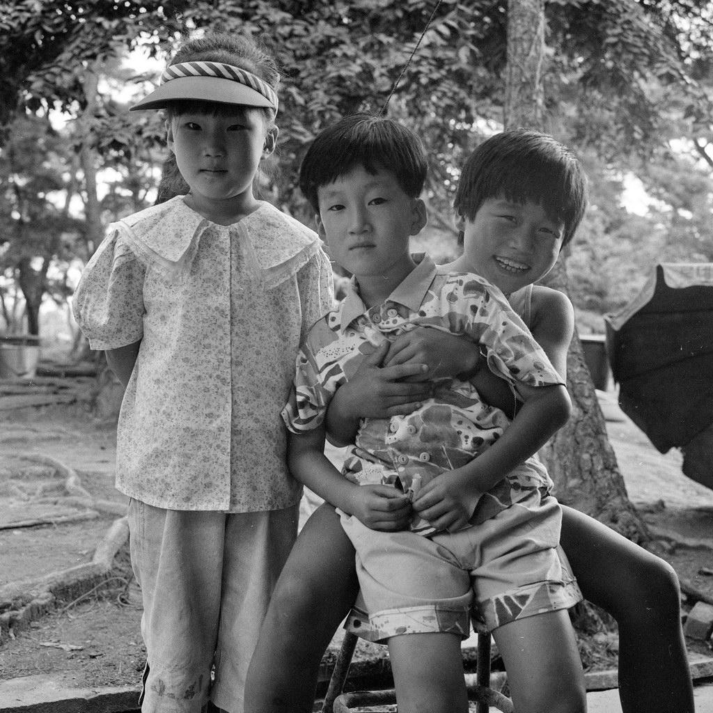 kinder, kongju, südkorea 1991
