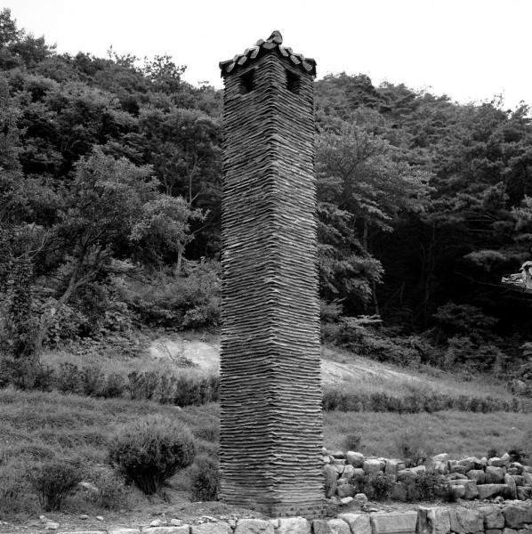 Beopjusa Temple, kamin, südkorea, 1991