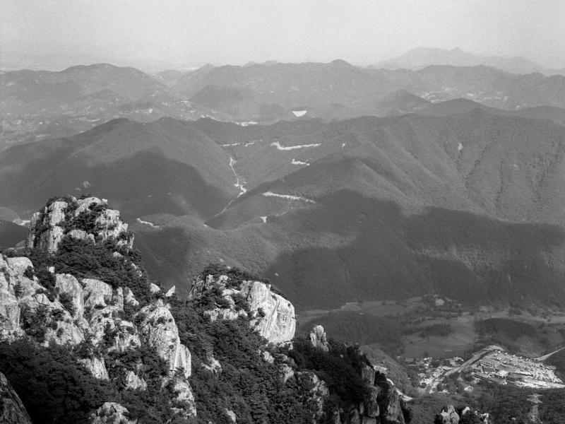 taedunsan-nationalpark, südkorea 1991