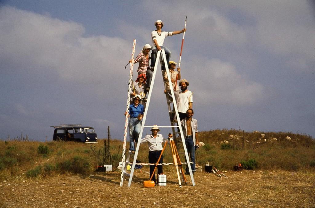 israel, tel akko, die erste mannschaft, 1978