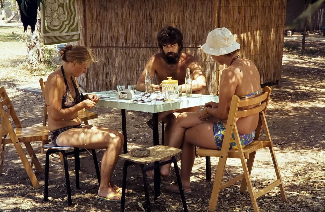 unser camp, tel akko, israel 1979