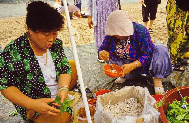 südkorea, kong-ju, natur und kunst-symposion 1991