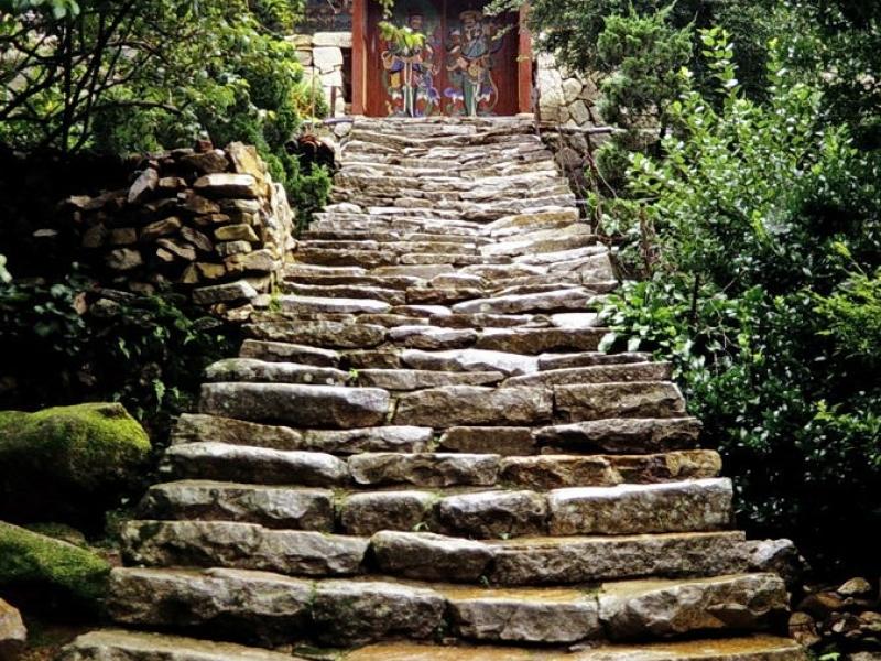 kyer yongsan -nationalpark, kapsa-tempel, südkorea 1991