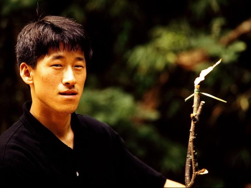 kyer yongsan -nationalpark, song-won lee, südkorea 1991