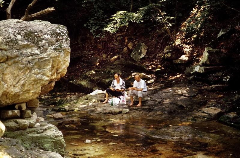 kyer youngsan-nationalpark, südkorea 1991