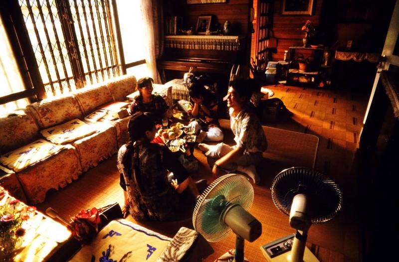 zu hause bei jo-guk im, taejon, südkorea 1991