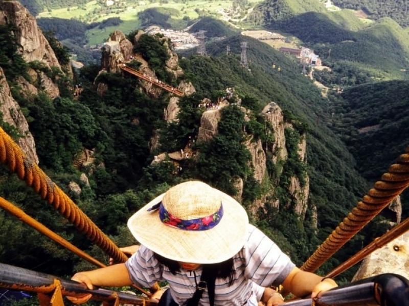 provincial park mount taedun, südkorea 1991 mit jo-guk