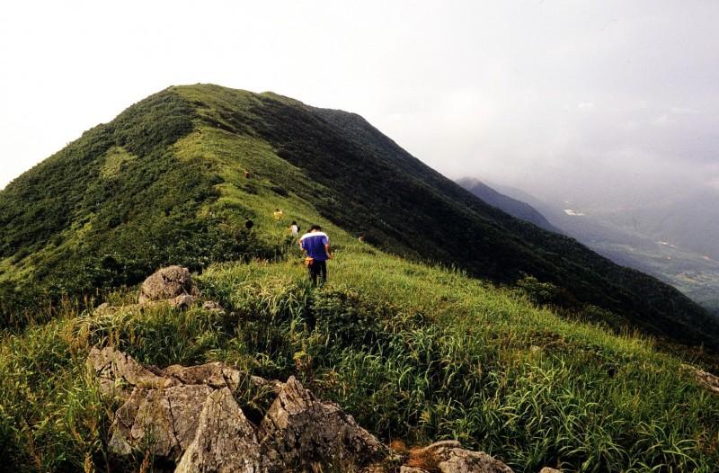 ososan, ausflug mit song-won lee u.a., südkorea 1991