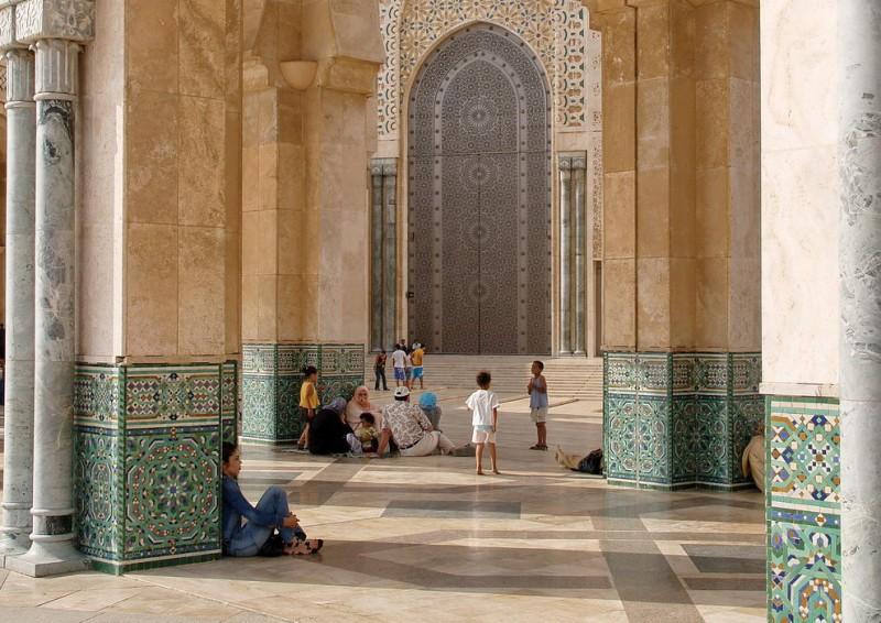 marokko 2006moschee hassan II, casablanca, 2006