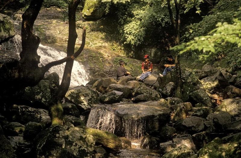 kyer yongsan -nationalpark, young-ya bang-cho + yang, chun-song, südkorea 1991