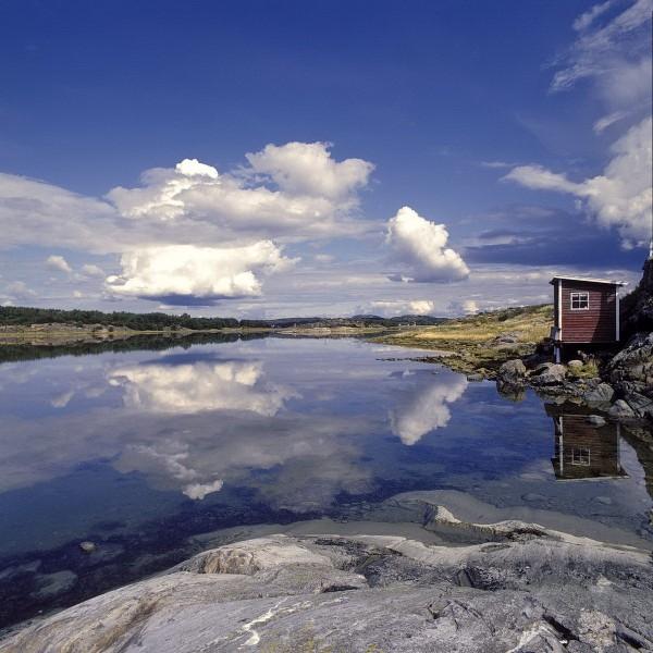 schwedenschweden, bohuslan, küste, felsen
