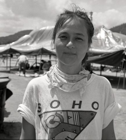 theresa kobayashi, natur und kunst-symposion, kongju, südkorea 1991