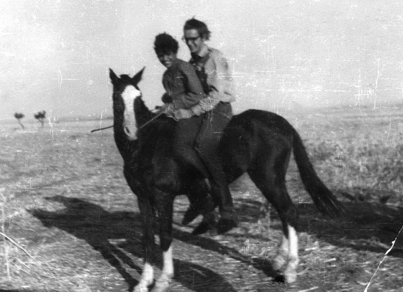 bsasla, reitstunde, marokko 1969