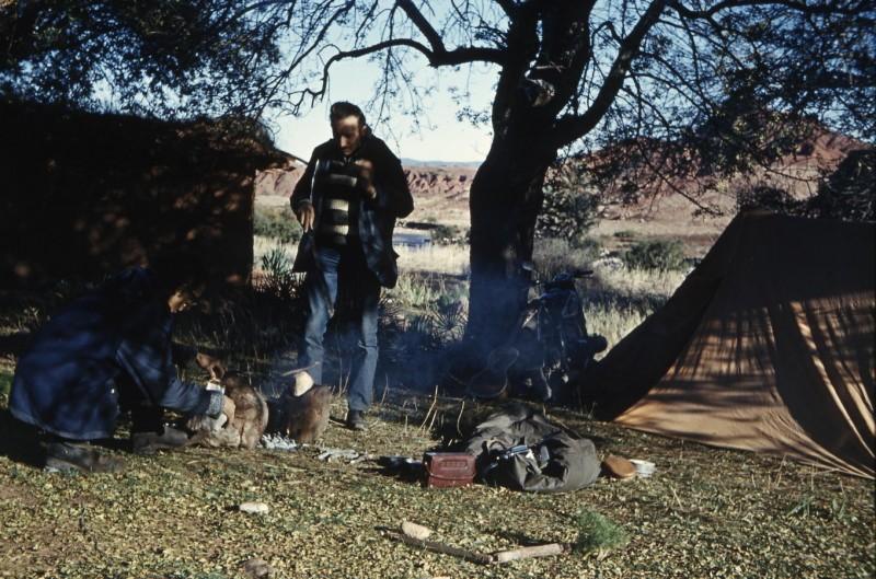 zelten im hohen atlas, marokko 1969