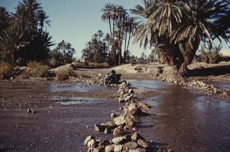 flußquerung im großen süden, marokko 1969