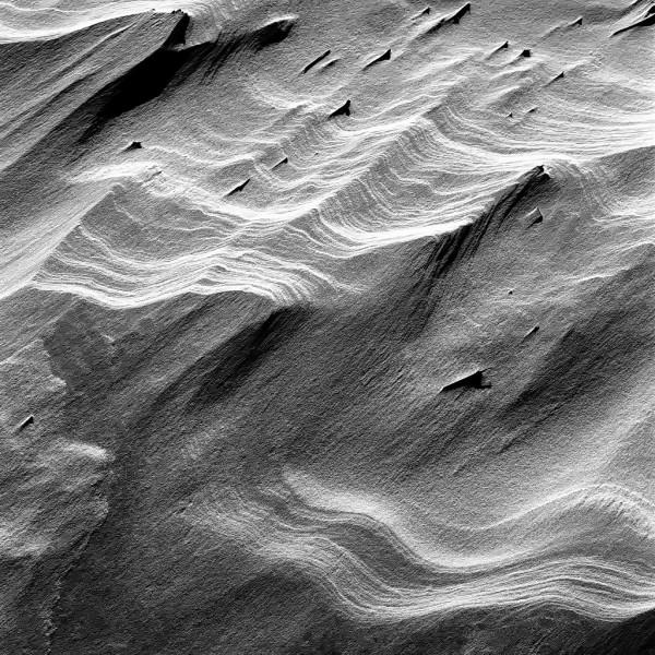 am meer, amrum 2003, schwarz-weiß, strukturen am kniepsand