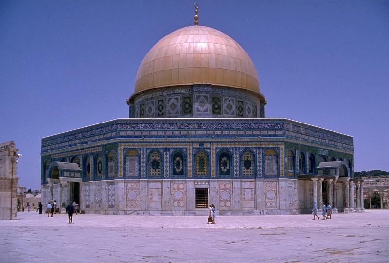 felsendom, jerusalem, israel 1978