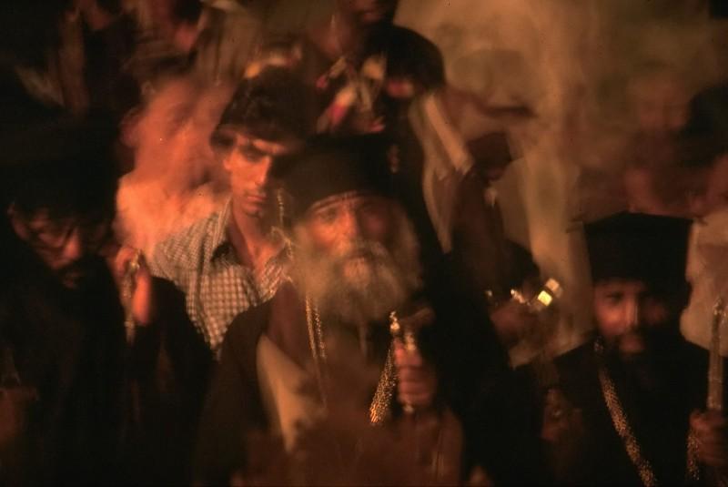 kreuzfest der äthiopier, jerusalem, israel, 1978