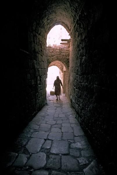 altstadt akko, israel, 1978