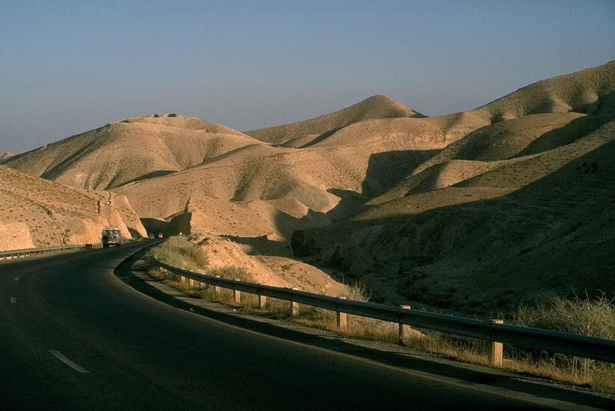 straße zum roten meer, israel, 1978