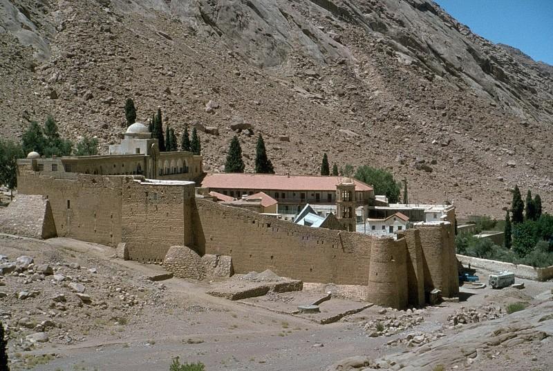 katharinenkloster, sinai, 1978