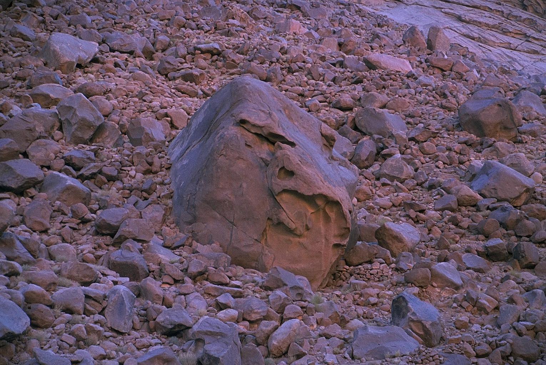 blue-mood, felsen, steine, sinai, israel, 1978