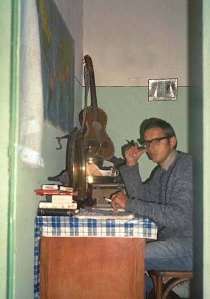 mein zimmer bei ahmed in casablanca, 1969