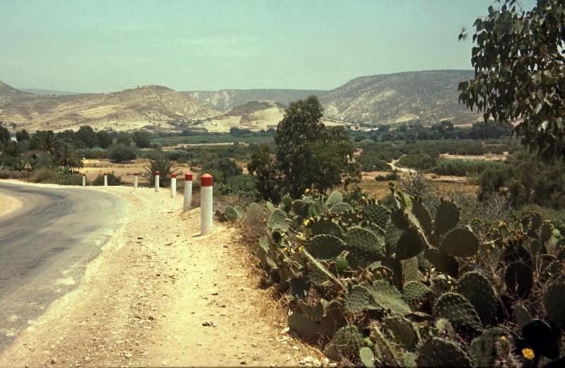 von casablanca per anhalter nach tan tan (ca 800km), 1969