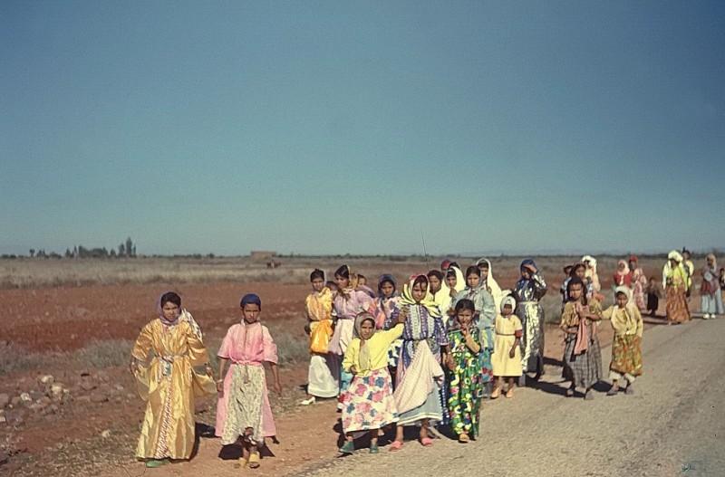 kinder im großen süden, marokko 1969
