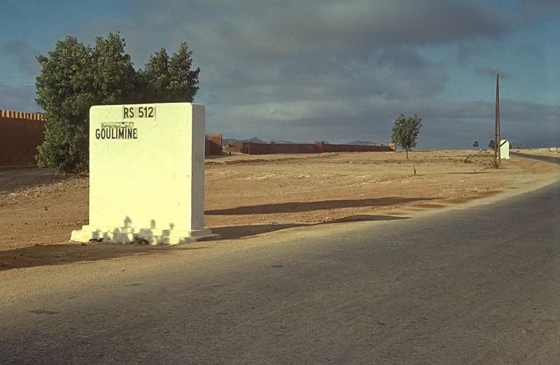 von casablanca per anhalter nach tan tan (ca 800km), goulimine, 1969
