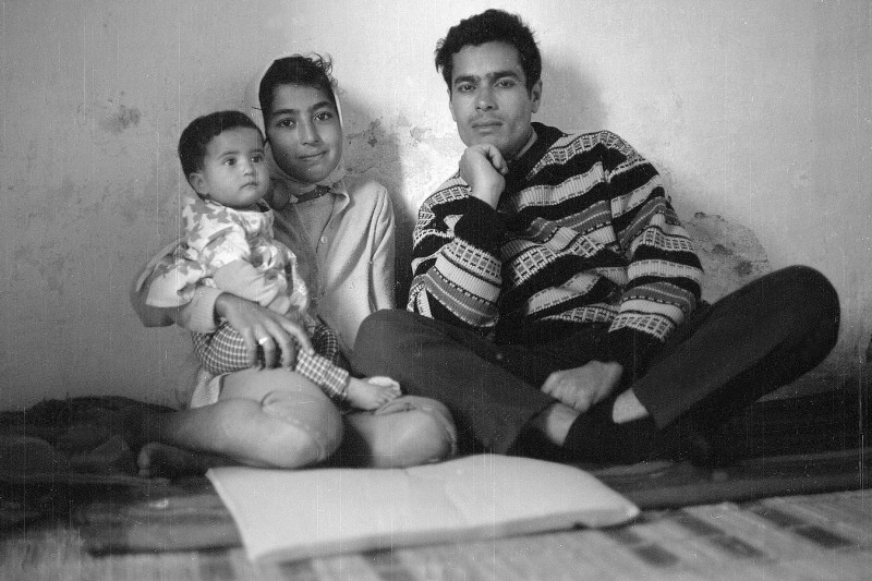bsasla, fatiha und  mohammed fatiha, marokko 1969
