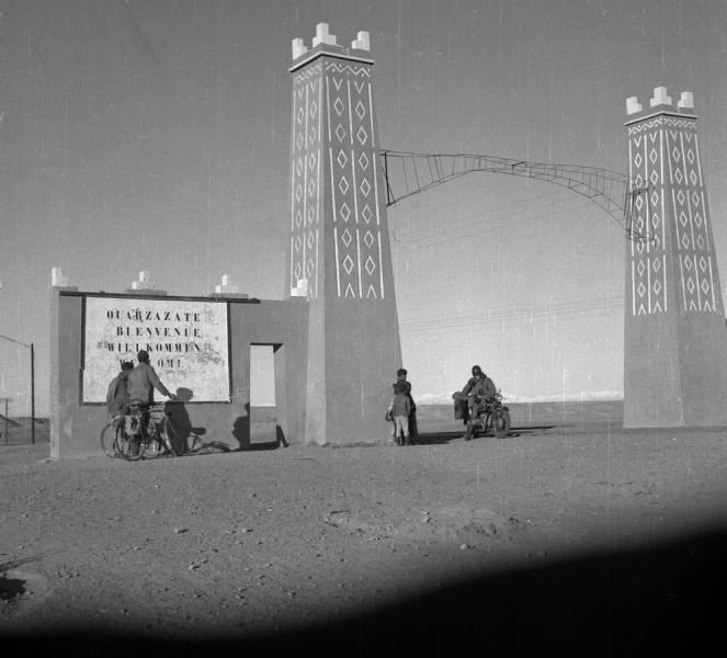 stadttor ouarzazate, marokko 1969