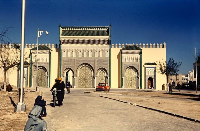 rabat, marokko, 1968