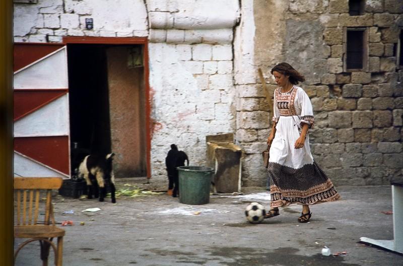 maria, altstadt akko, israel 1978