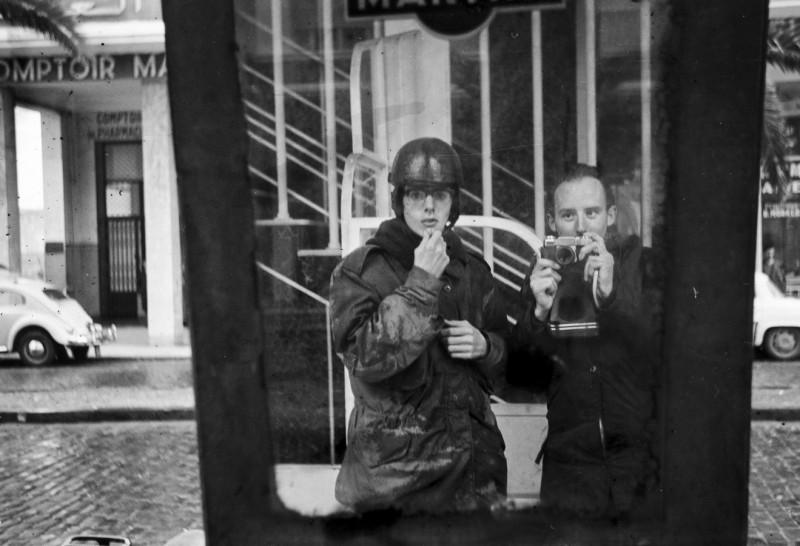 irgendwo in marokko, friedhelm + hans-jürgen, spiegelung, 1969