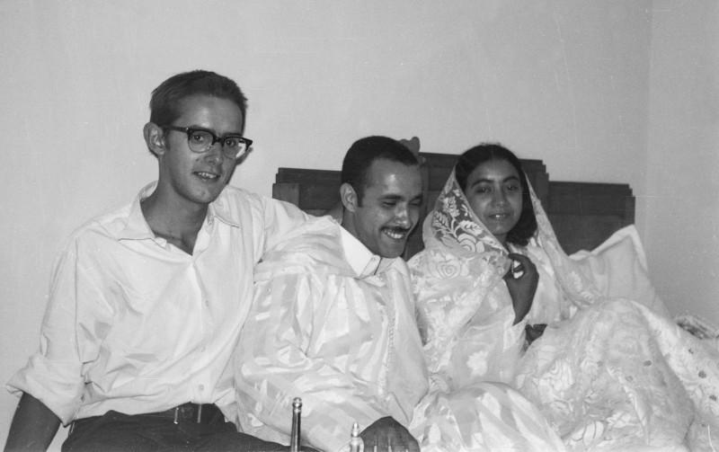 hochzeit, friedhelm, ahmed + fatna, casablanca, marokko 1968