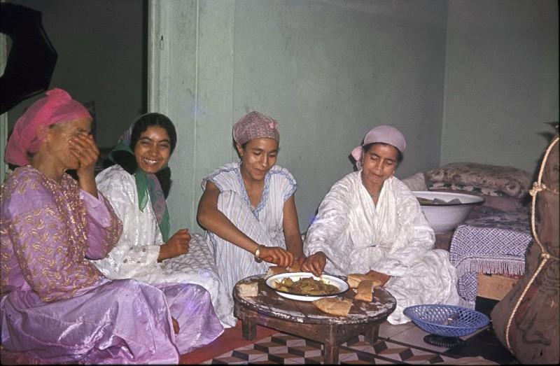 hochzeitsvorbereitung ahmed + fatna, casablanca, marokko 1968