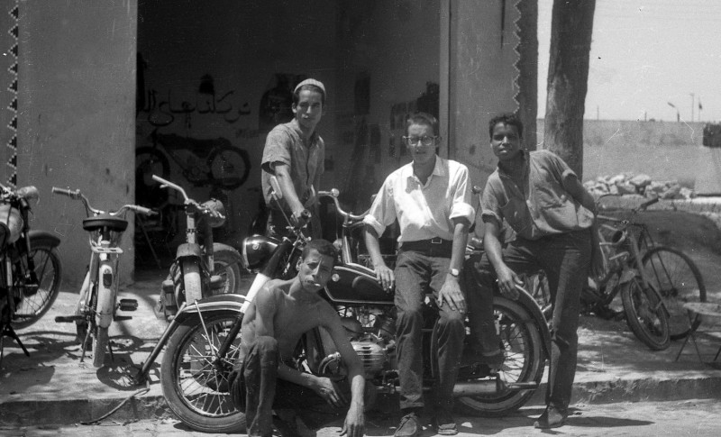 mohammeds  werkstatt, casablanca 1969
