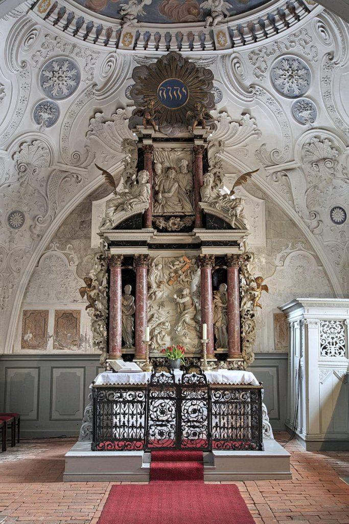 PLÖ, Probsteierhagen, Alte Dorfstraße 47, Kirche St. Katharinen