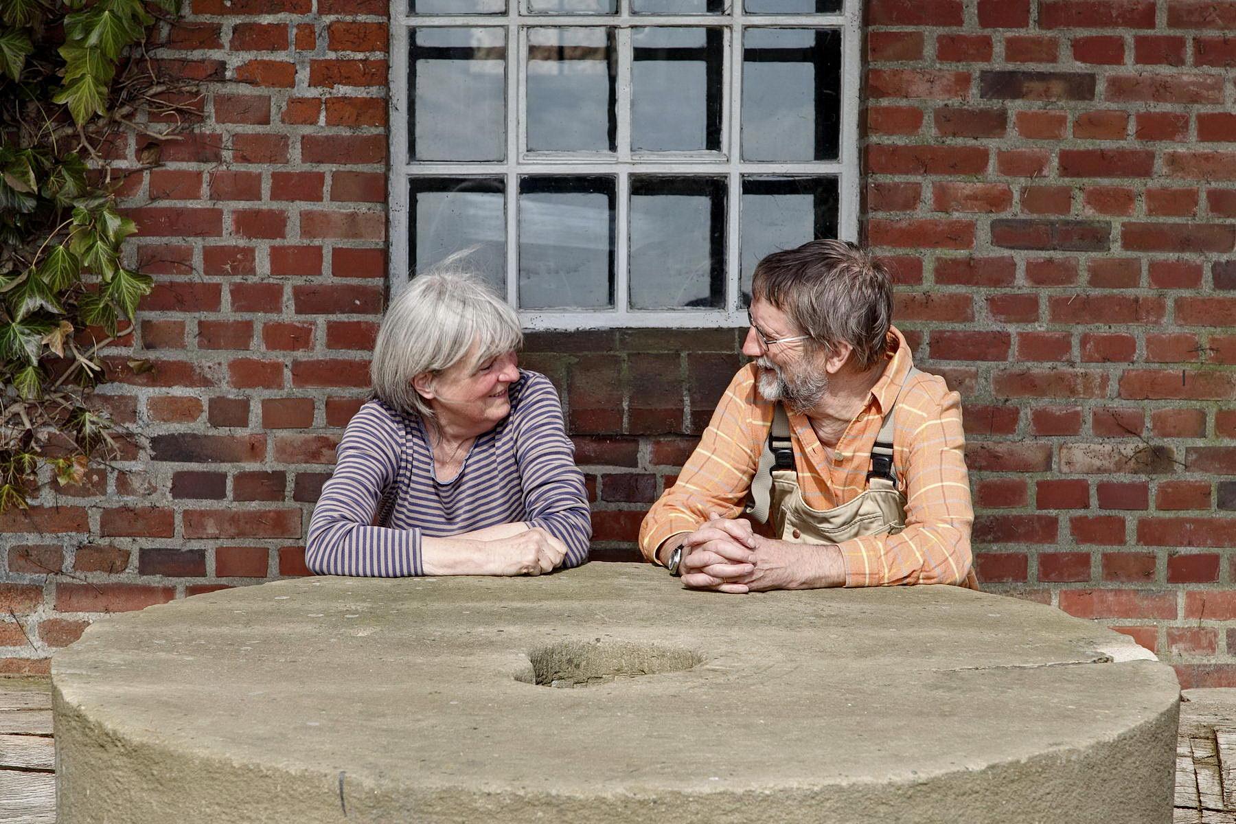 "PLÖ, Ascheberg, Langenrader Mühle, Windmühle ""Sventana"", Renate + Uwe Karstens, 2012"
