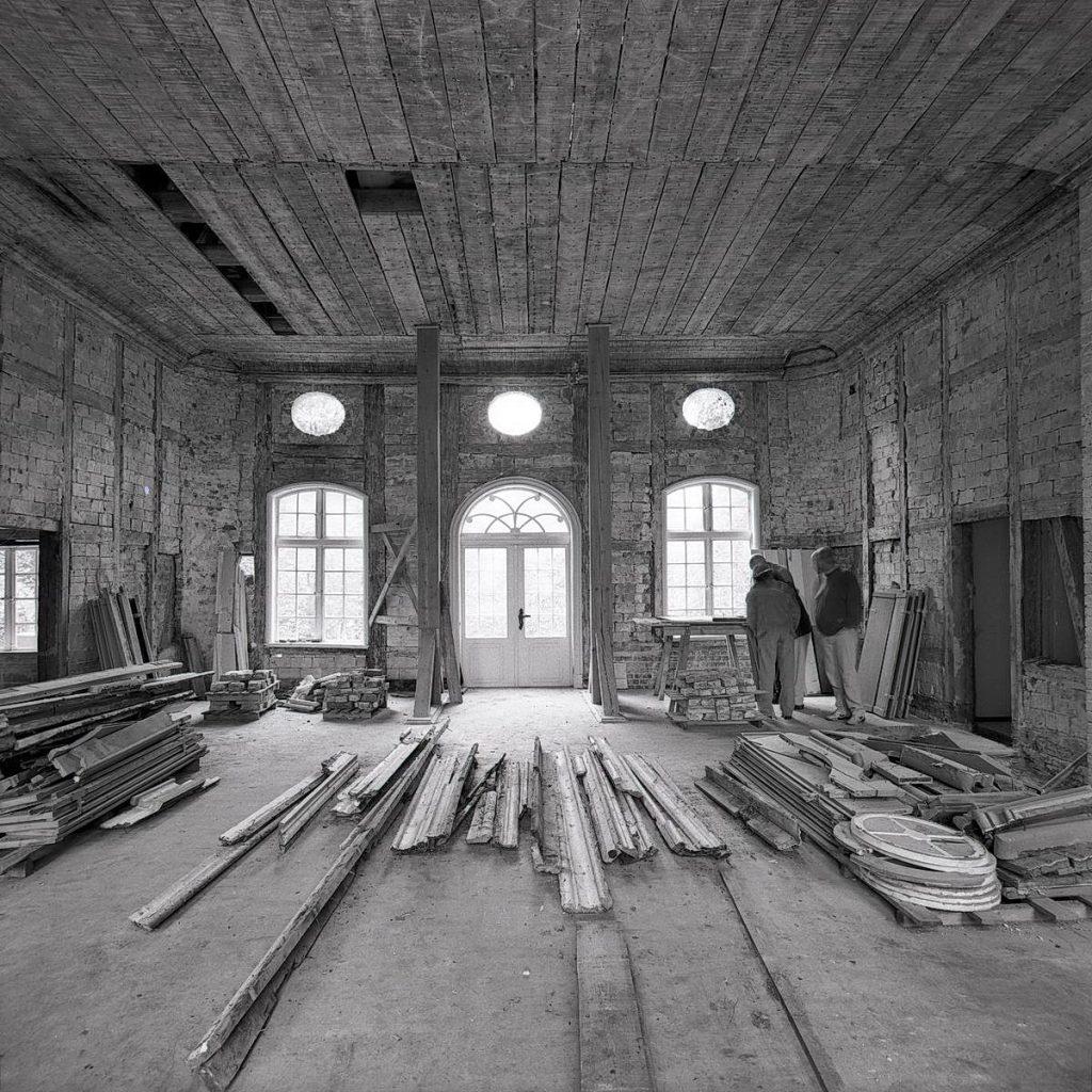eutin-sielbek, jagdpavillon, 1995