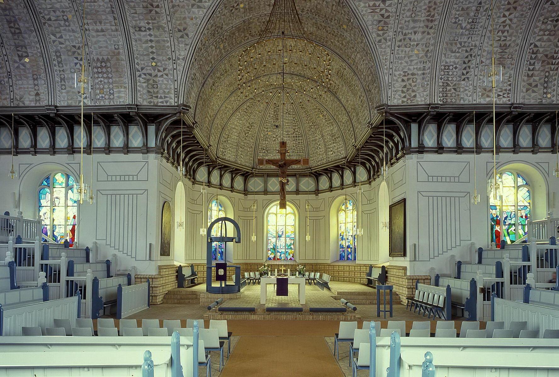 plön, nikolaikirche, innen, foto 4/1998